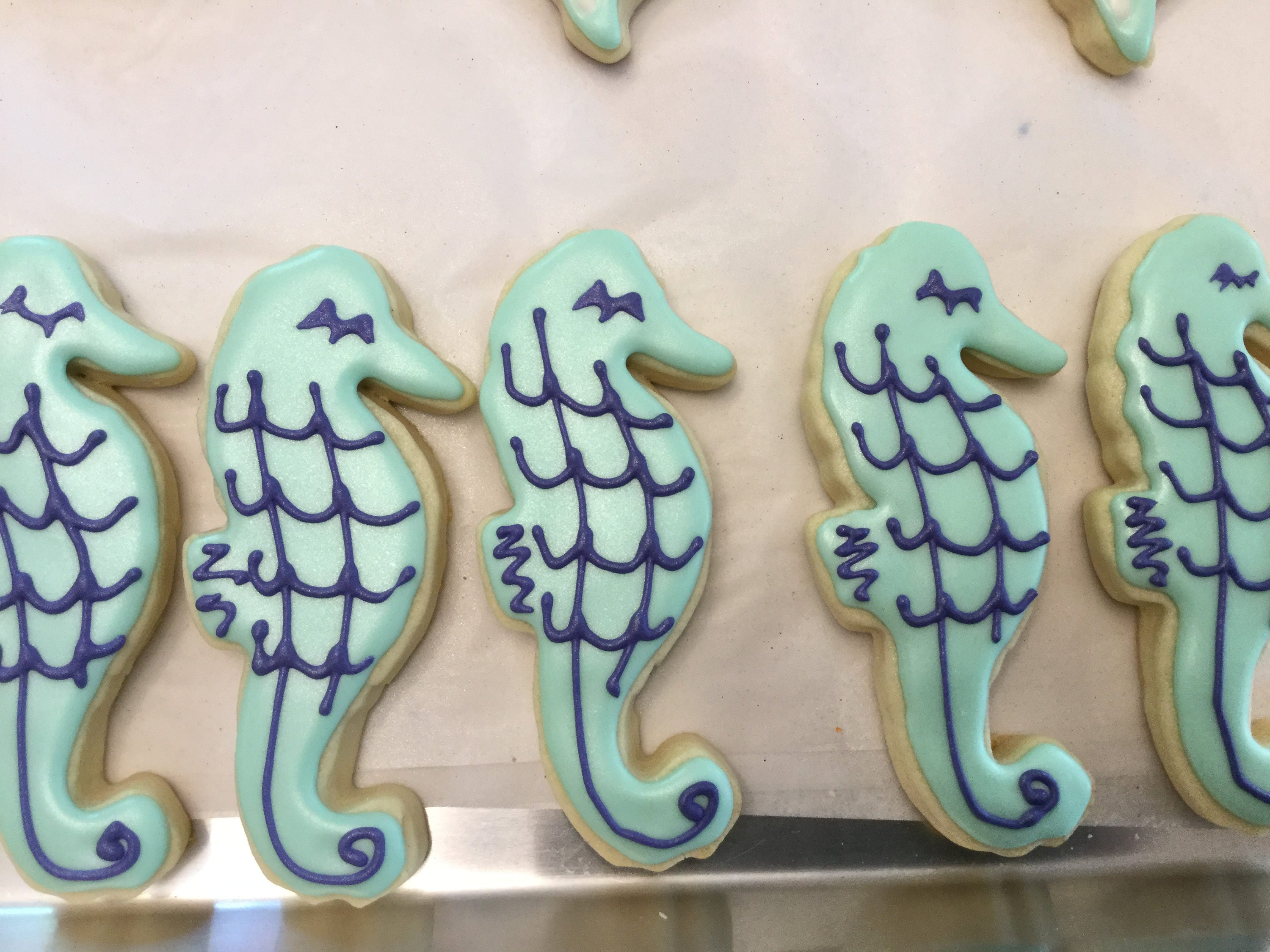 Seahorse Cookies Just Baked Sweets
