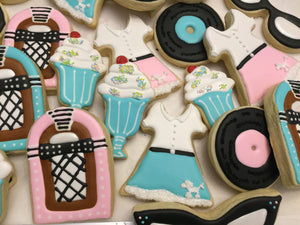 1950s Theme Cookie Assortment