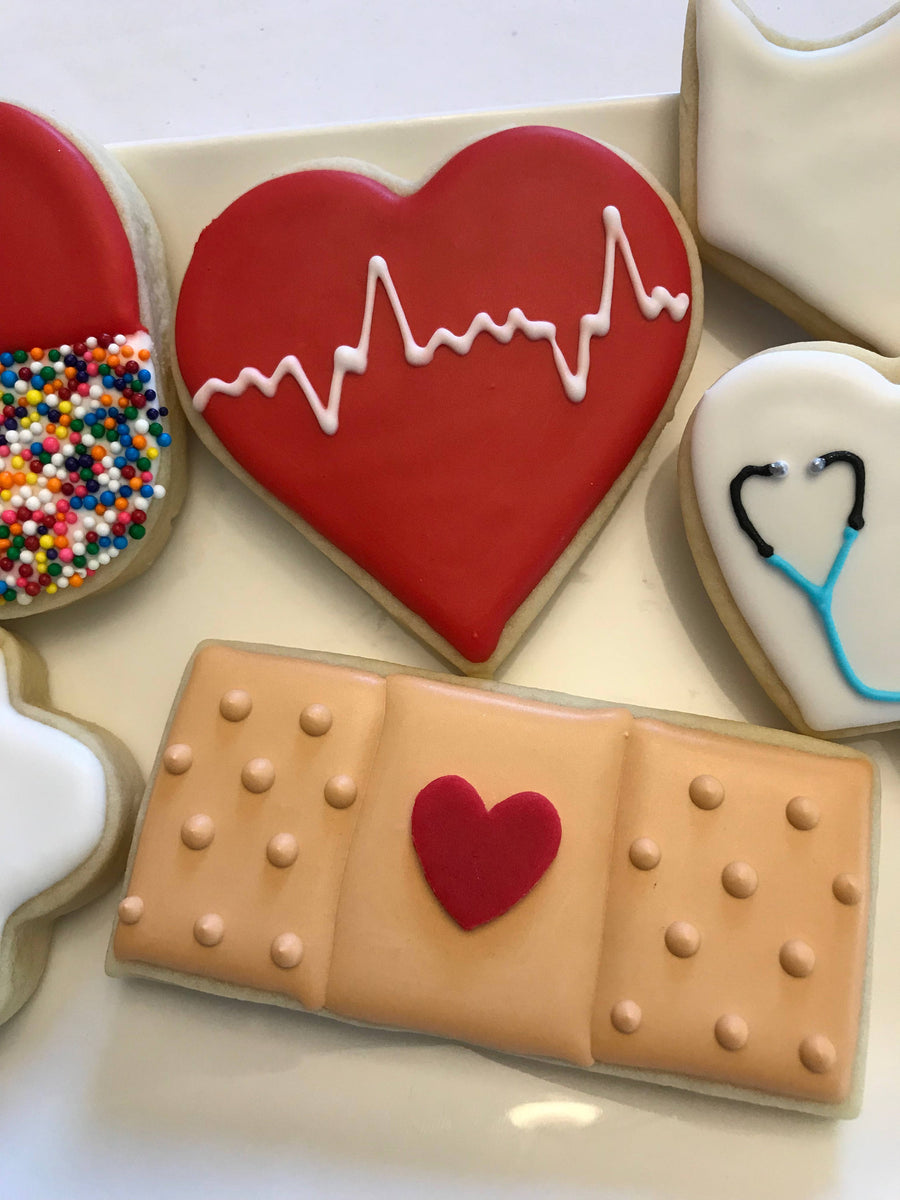 Nurse Cookie Assortment | Doctor Med School Graduate Cookies