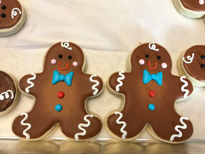Gingerbread Man Cookies | Ginger Bread Holiday Cookies