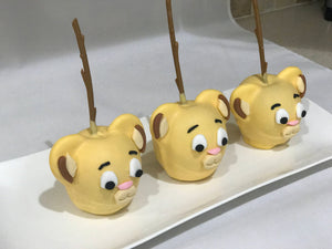 Lion Chocolate Covered Apples