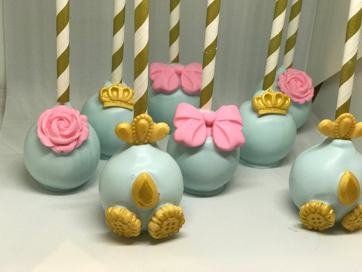 Princess Carriage Cake Pop Assortment