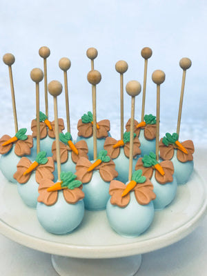 Rabbit Carrot Cake Pops