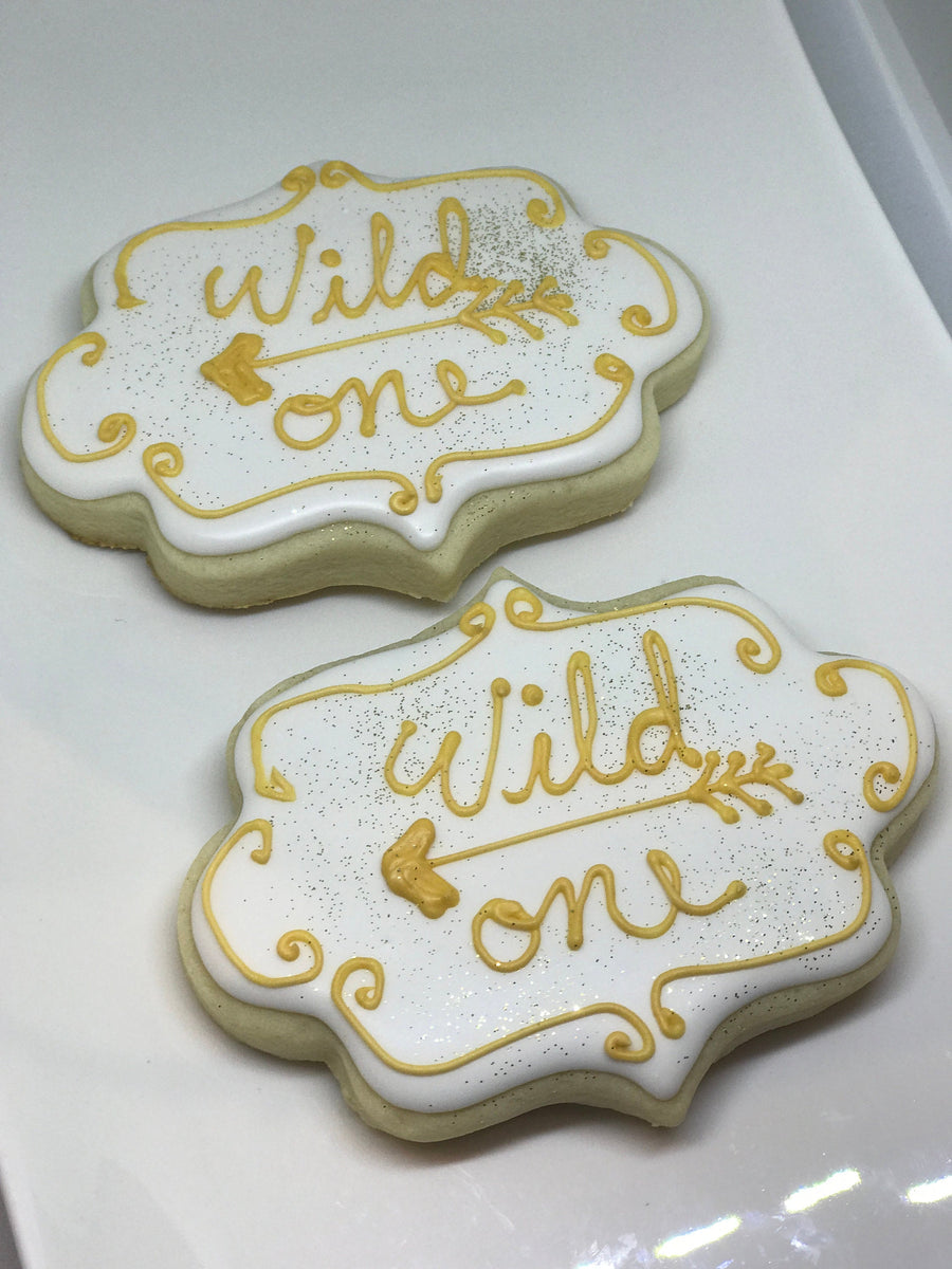 Wild One Bohemian Theme Cookie