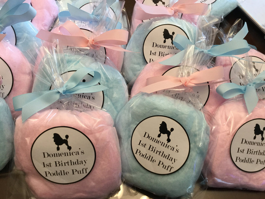 Twin Babies Cotton Candy Party Favors, 24 bags