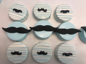 Mustache, Little Man Chocolate Covered Oreo