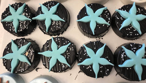 Starfish Seashell Chocolate Covered Oreos