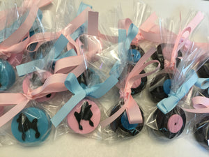 50s, Poodle Party, Sock Hop Chocolate Covered Oreo