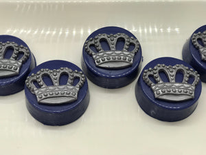 Royal Blue and Silver Prince Chocolate Covered Oreos | Prince Theme