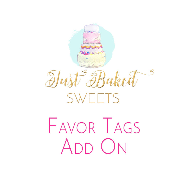 Add-On Coordinating Favor Tags