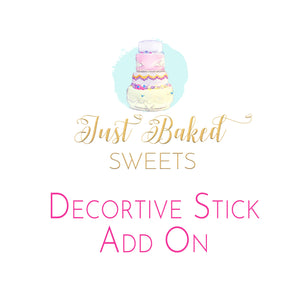 Upgrade Decorative Sticks - ADD ON ONLY