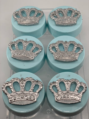 Light Blue Prince Chocolate Covered Oreos, Little Prince