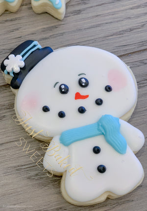Snowman Snowflake Cookie Assortment