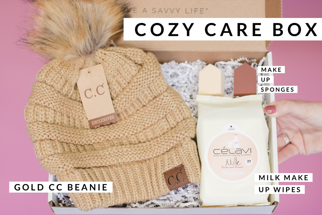 Stay Savvy Box - Cozy Care