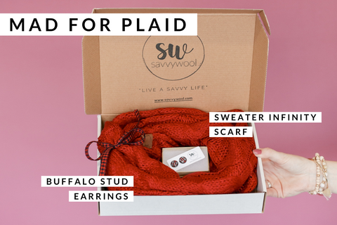 Stay Savvy Box - Mad for Plaid