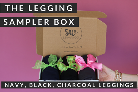 Stay Savvy Box - Leggings Sampler