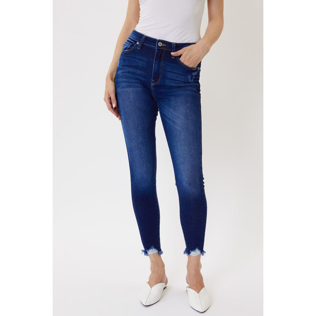High Rise Kan Can Denim Jeans