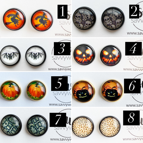 Halloween Druzy Collection