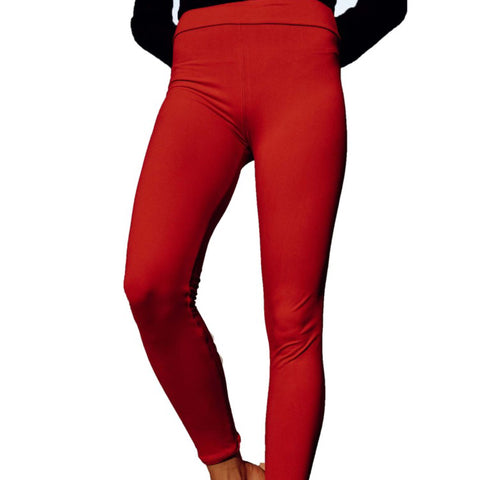 Christmas Red Leggings