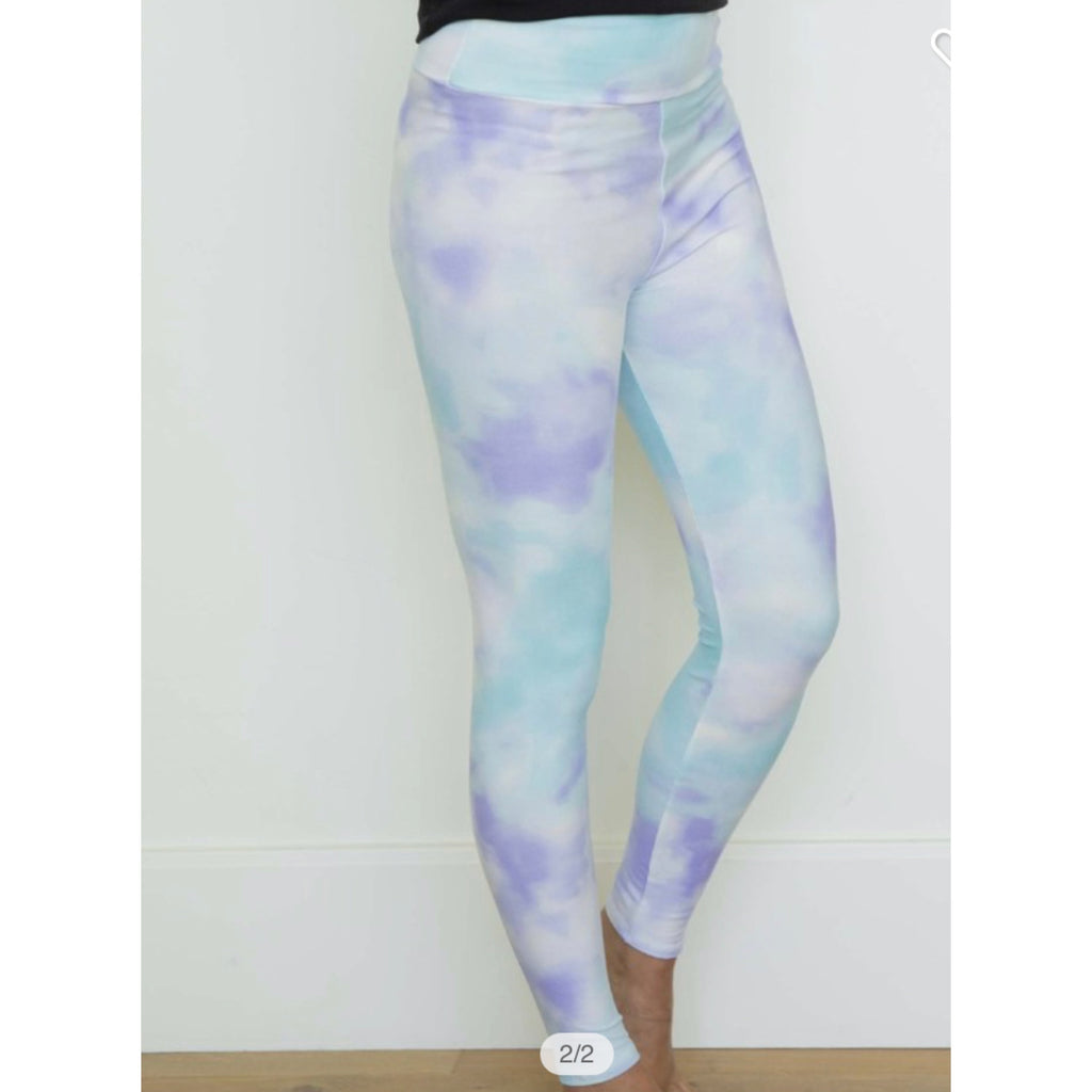 Savvy Magic Leggings - Tie Dye