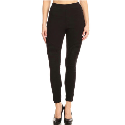 Moto Jeggings - Black