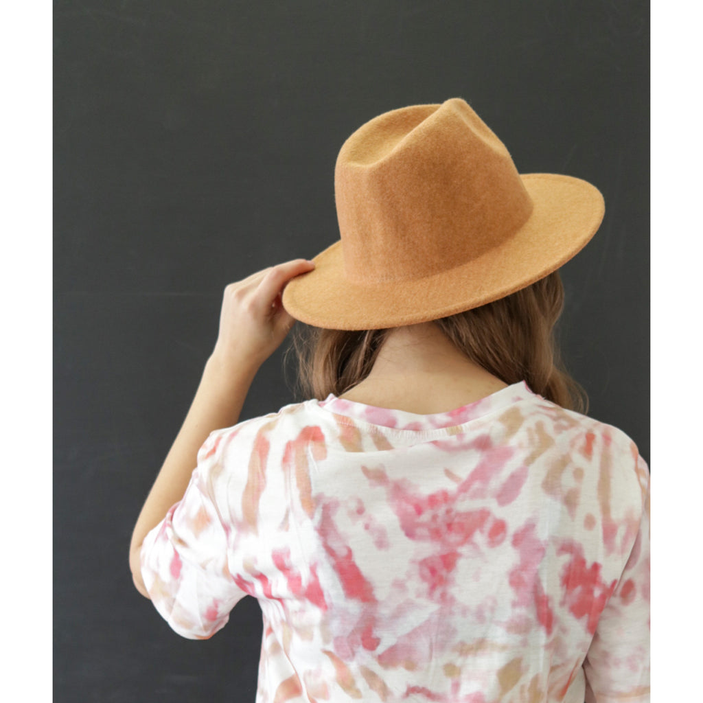 The Ophelia Hat - Camel