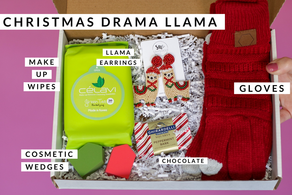 Stay Savvy Box - Christmas Drama Llama