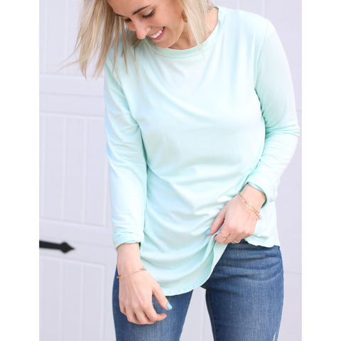 Back to Basics Crew Neck - Mint