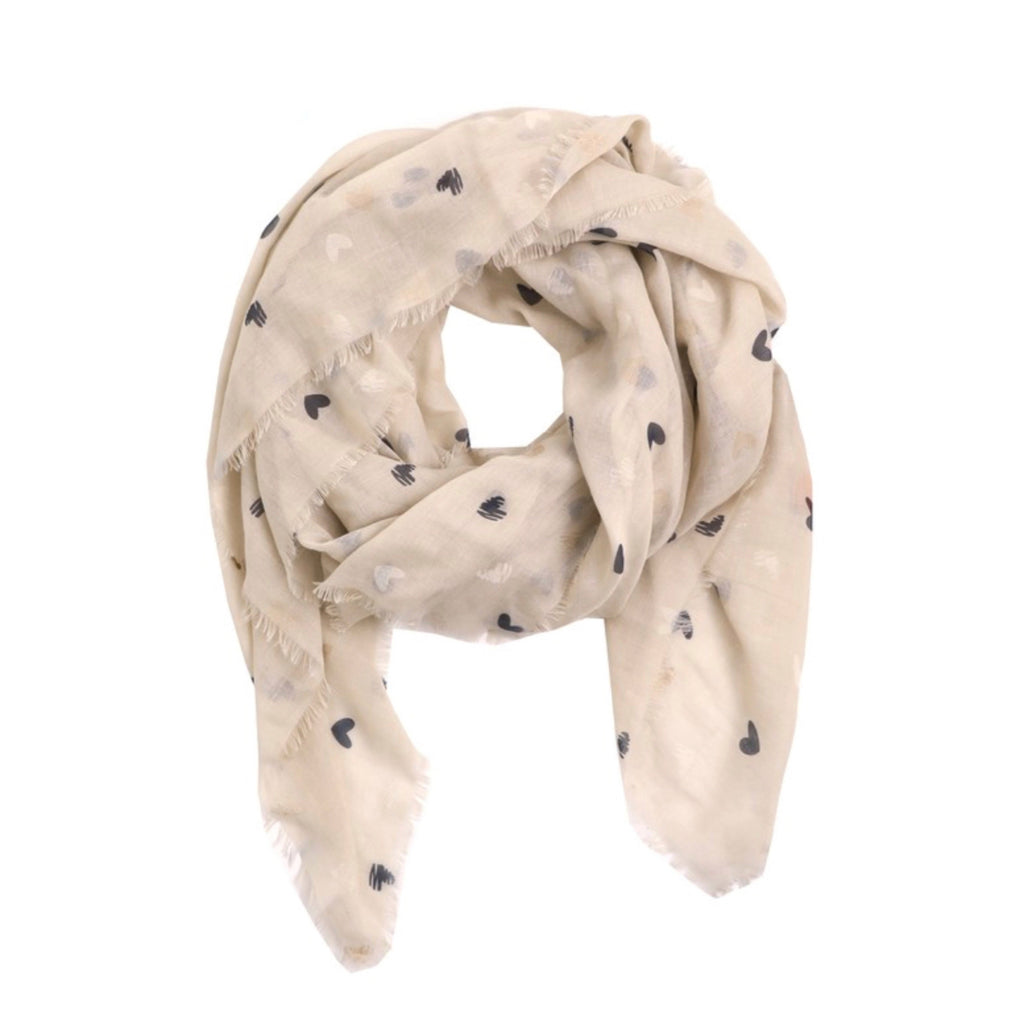 Savvy Spring Scarf - Hearts