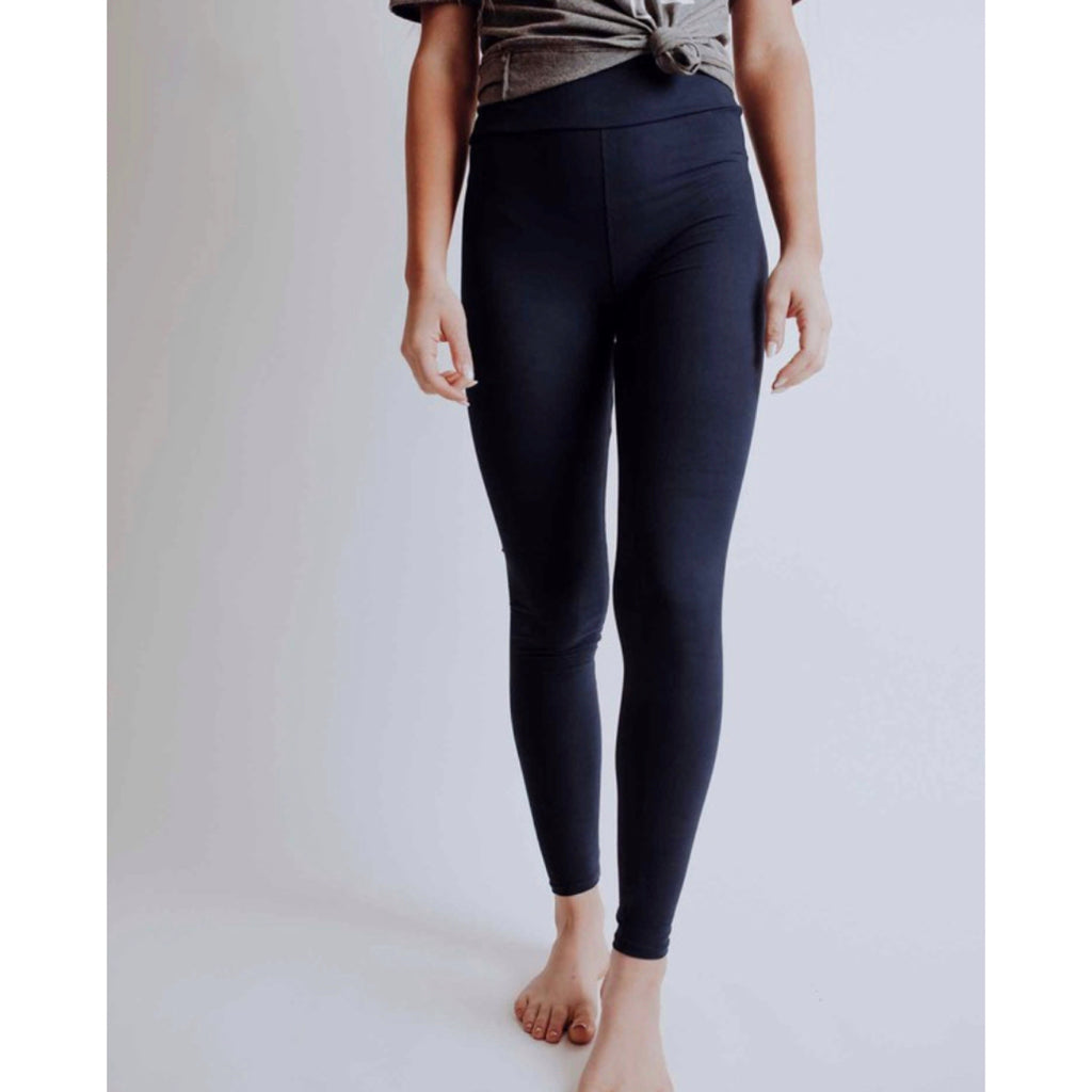 Savvy Magic Leggings - Yoga Waist - Navy