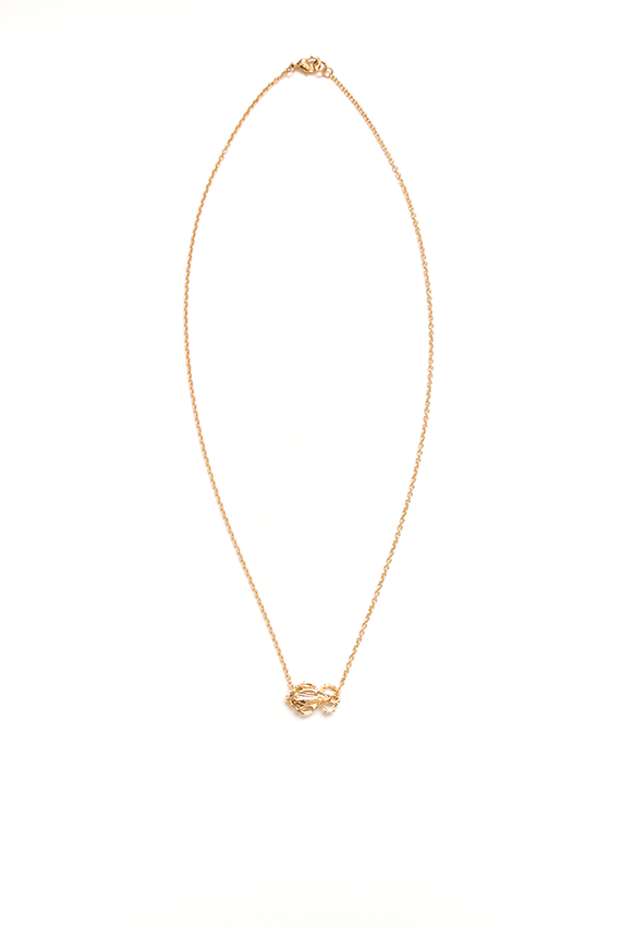 Single Goldbug Necklace