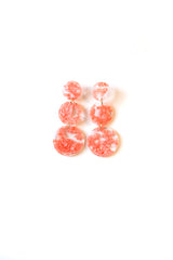Lola Resin Triple Drop Earrings