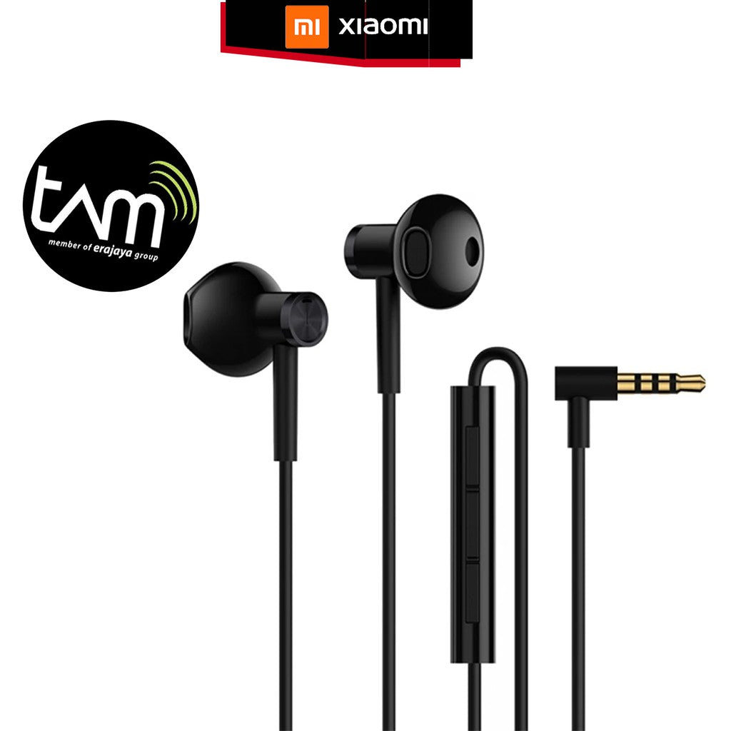 Xiaomi Earphone Mi Dual Driver Jack Audio / Type C Headset Microphone Original