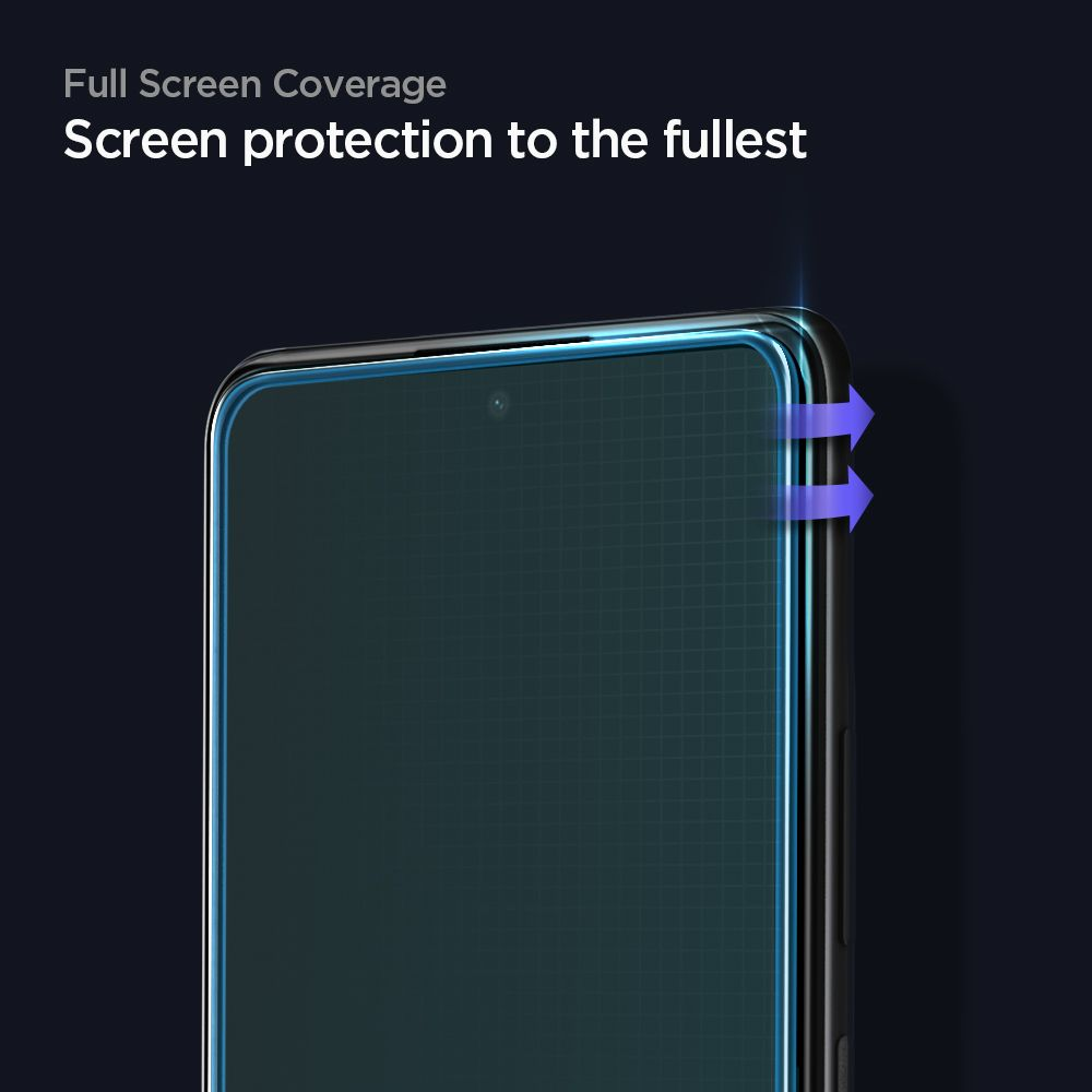 Tempered Glass Xiaomi Redmi Note 10 /10s/ Pro Max Spigen Full Cover