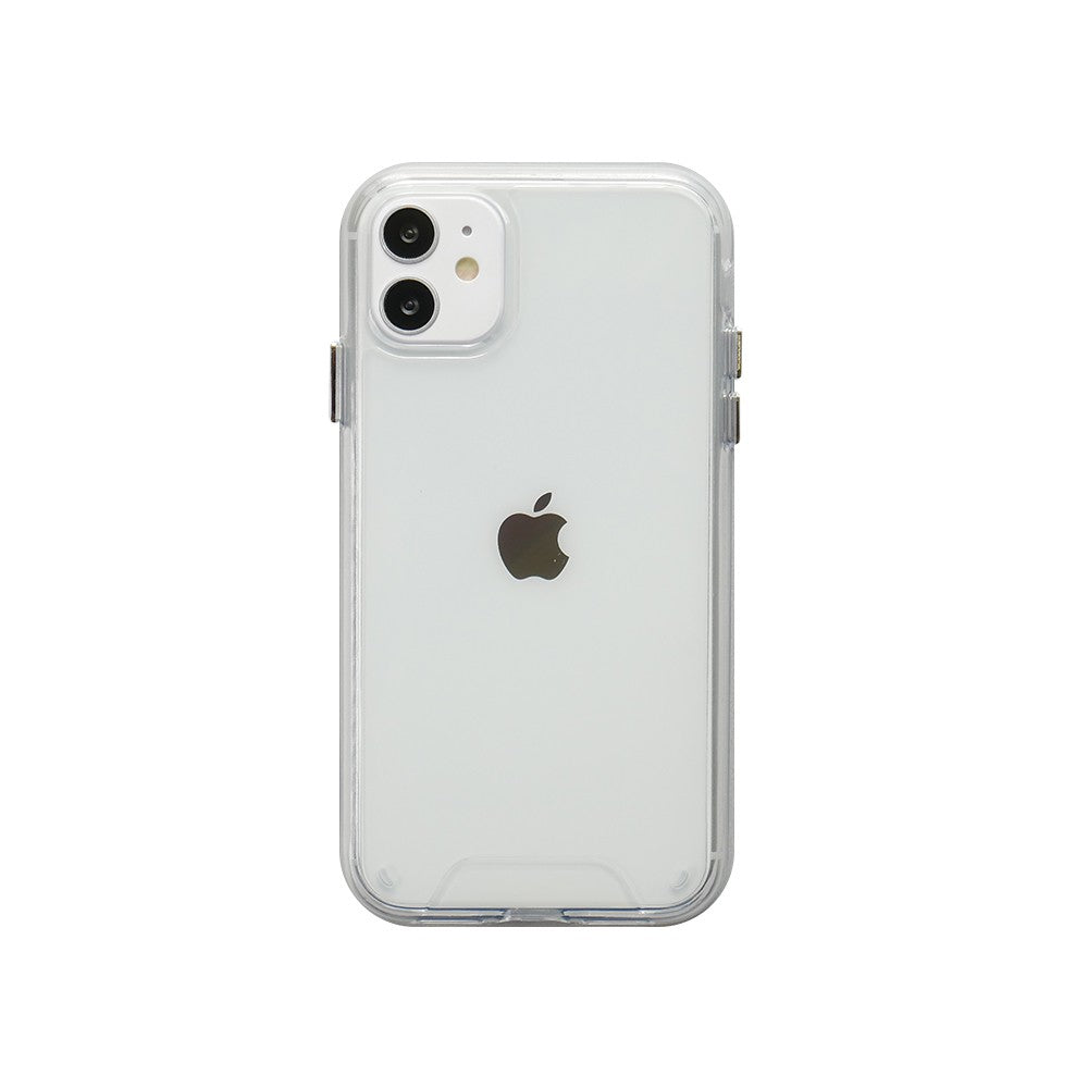 Case iPhone 11 Pro Max / 11 Pro / 11 Octaguard Dual Tough Clear Hybrid Casing