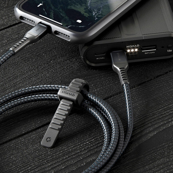 Kabel USB C to Lightning Cable Nomad Rugged iPhone iPad to Macbook
