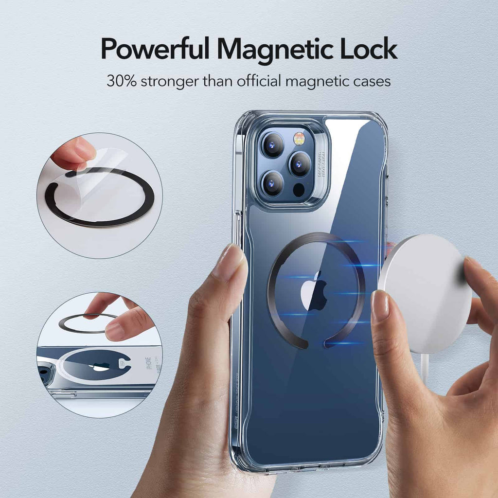 Stiker Magnet Magsafe iPhone / Android ESR Halo Ring Magnetik Wireless Charging