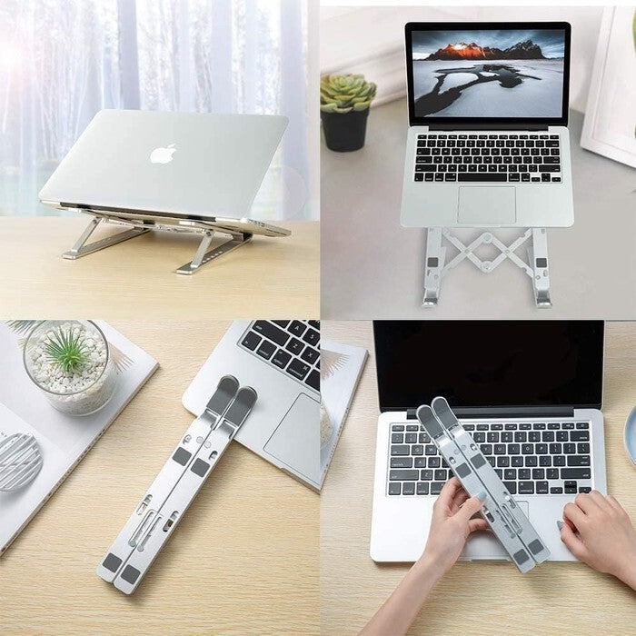 Laptop Notebook Macbook Tablet Stand Octastand Aluminium Adjustable Dudukan Portable Notebook Holder