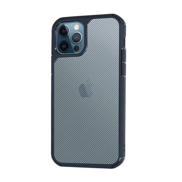 Case iPhone 12 Pro Max 12 Mini OCTACASE Octa Carbon Fiber Softcase Casing