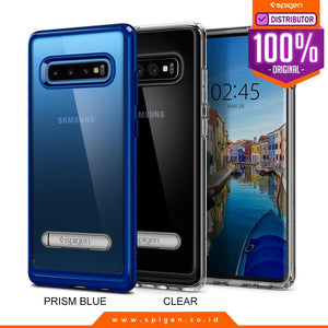 Case Samsung Galaxy S10 Plus / S10e / S10 Spigen Ultra Hybrid S Anti Crack with Stand Casing