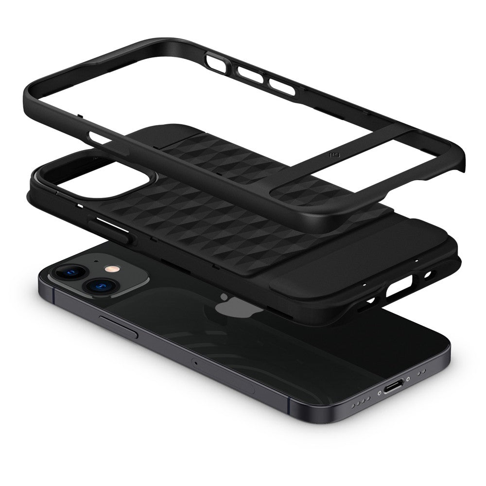 Case iPhone 12 Pro Max / 12 Pro / 12 / Mini Caseology Parallax Dual Layer Casing