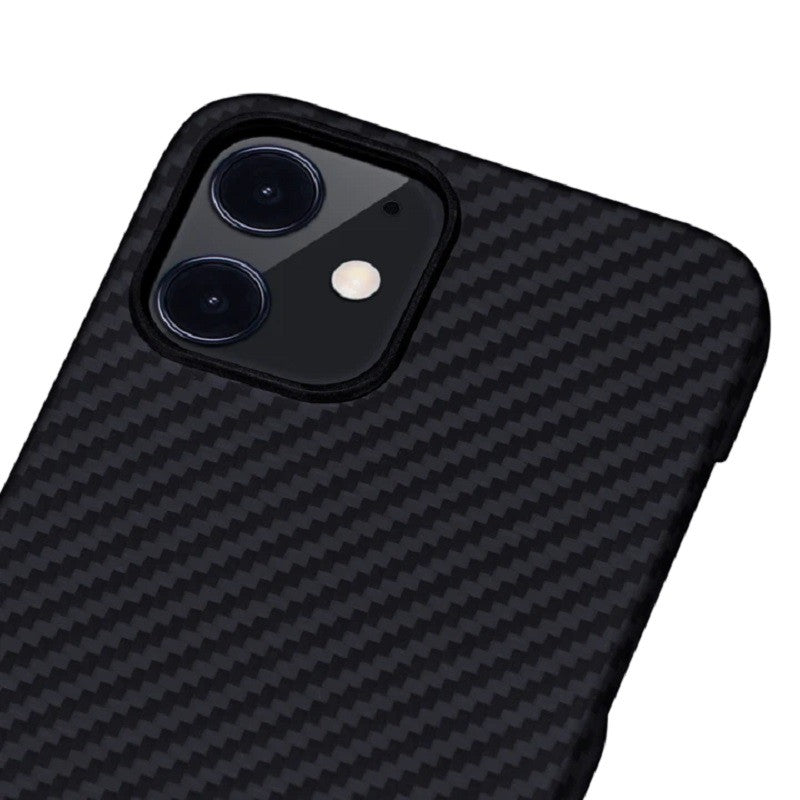 Case iPhone 12 Pro Max 12 Pro 12 Mini Pitaka MagEz Real Carbon Casing