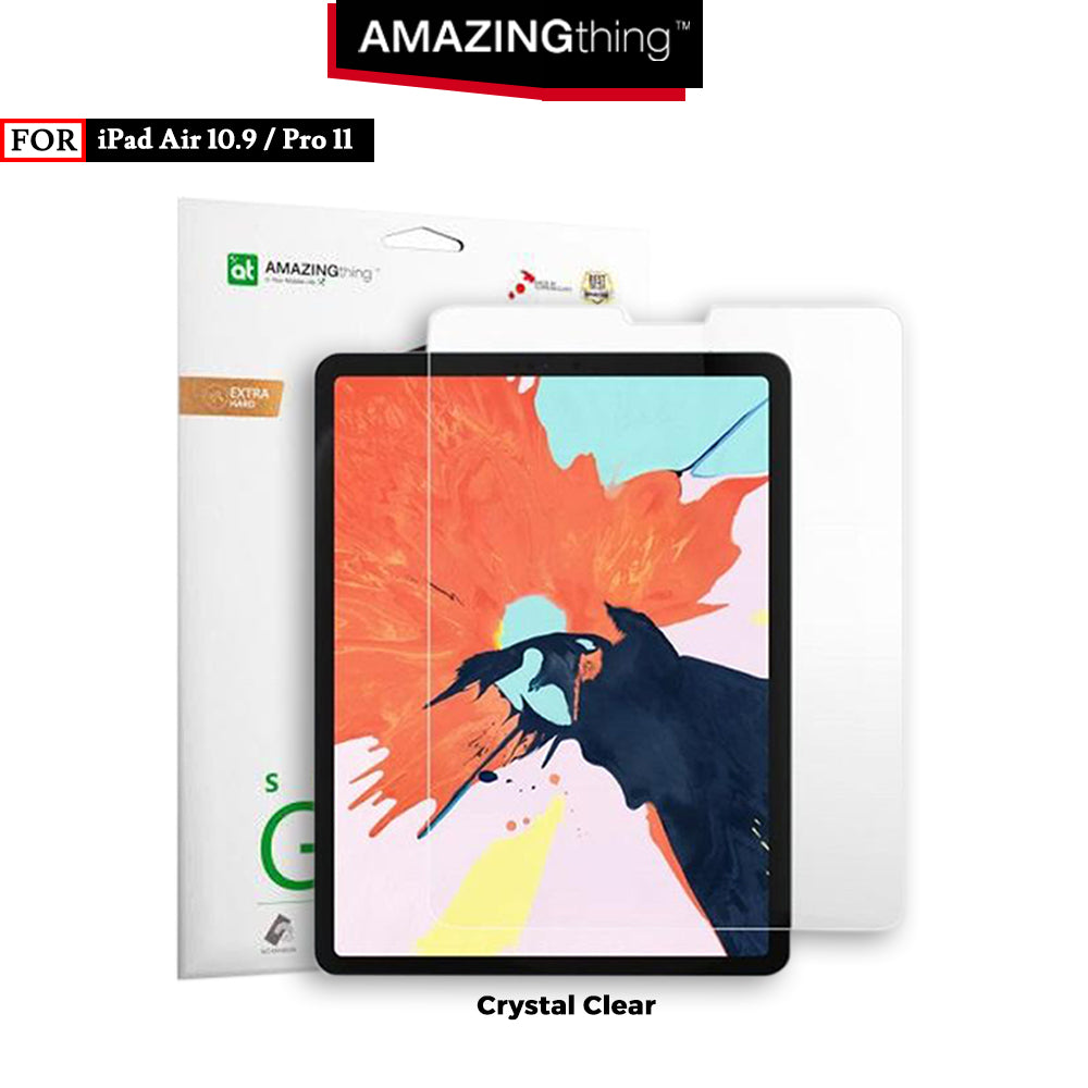 Tempered Glass iPad Air 10.9 / Pro 11 Amazingthing Supreme Glass 0.3mm