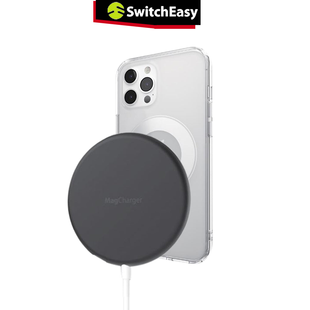 Wireless Charger iPhone 12 Pro Max Mini SwitchEasy Magsafe 15W Qi Fast