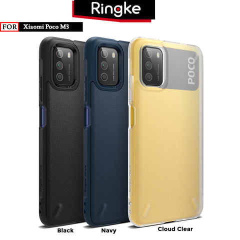 Case Poco M3 Ringke Onyx TPU Softcase Matte Anti Crack Casing