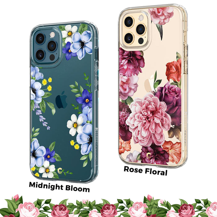 Case iPhone 12 Pro Max 12 Mini Ciel Cecile Hybrid Transparant  Motif Casing
