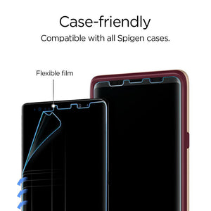 Screen Protector Galaxy Note 9 Spigen Neo Flex HD Full Cover Anti Gores Screen Guard