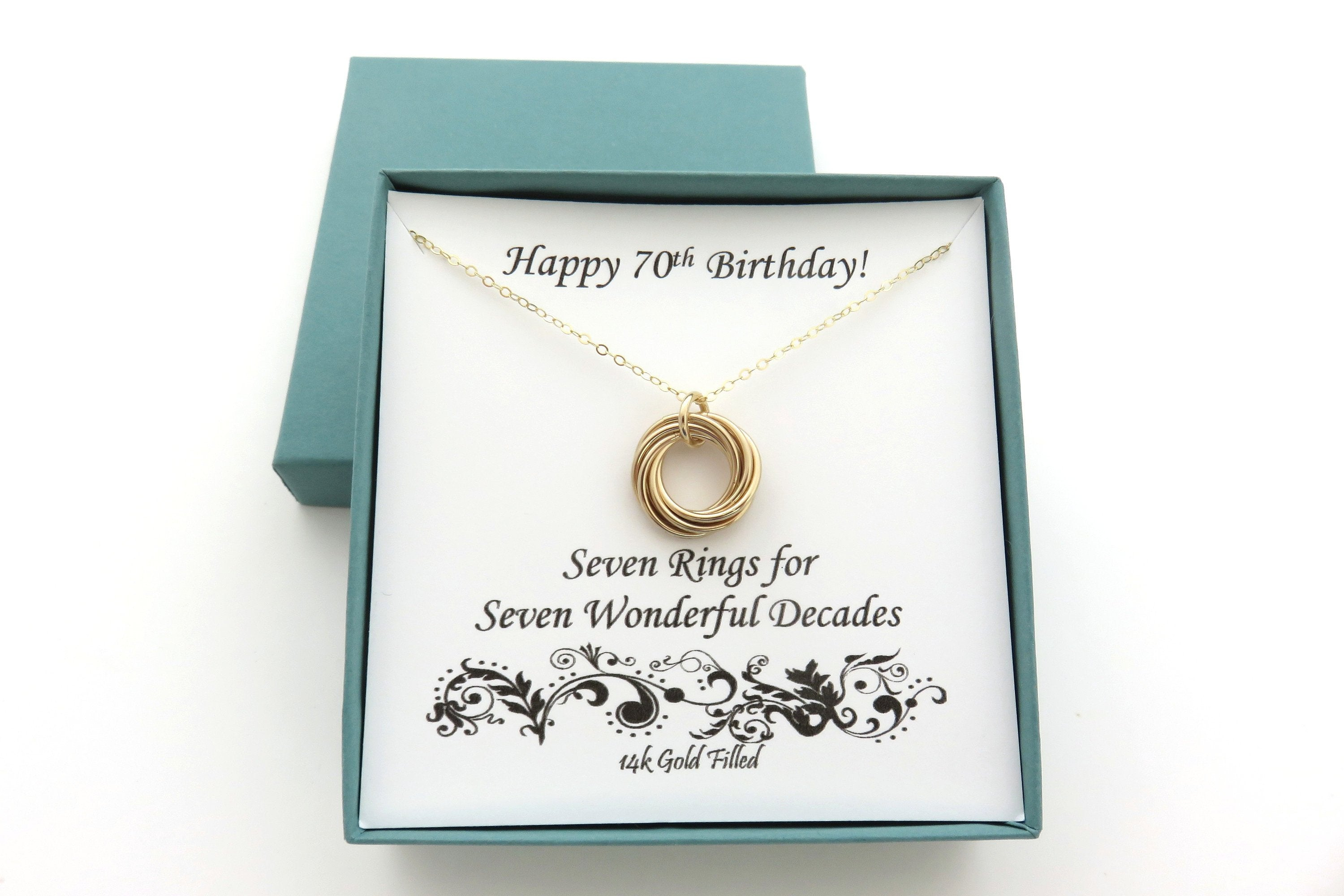 70th Birthday Gift For Women