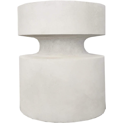 Akila Side Table - White Coffee and Side Tables Dianna-Lynn Decor