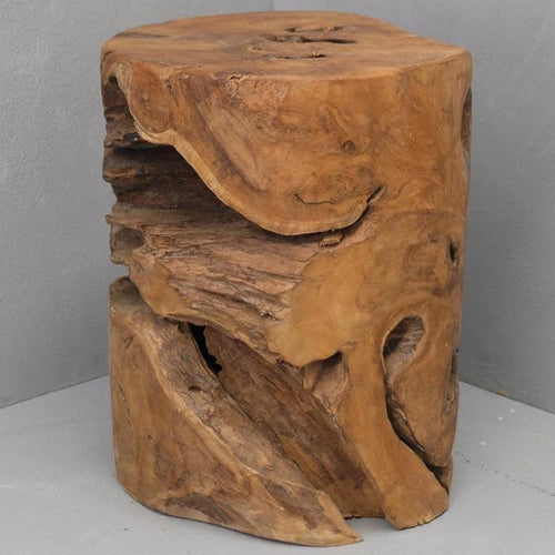 Ali Tree Stump Stool Low Stools and Benches Dianna-Lynn Decor